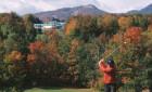La flambée des couleurs du mont Orford