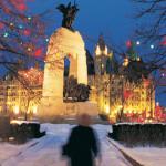 Les lumières de Noël au Canada