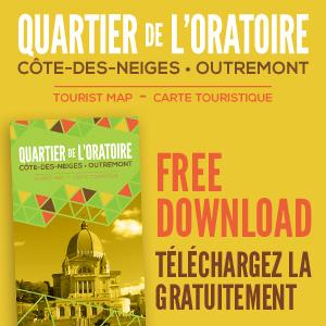 Carte touristique Côte-des-Neiges